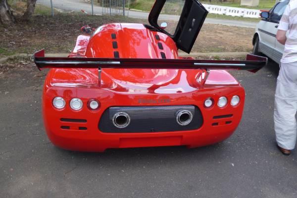 A car rear