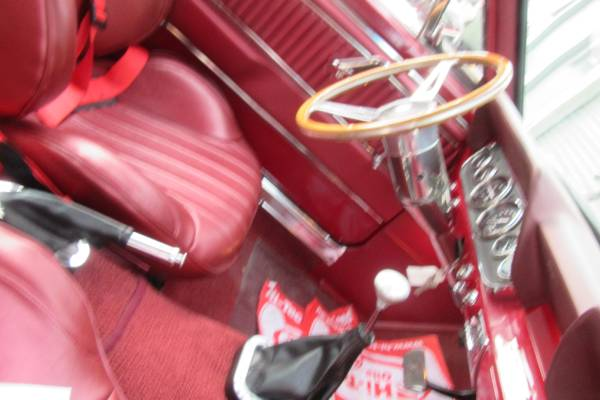 A red interior
